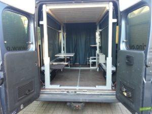 fiat ducato kastenwagen ausbau quickout wohnmobilausbau. Black Bedroom Furniture Sets. Home Design Ideas