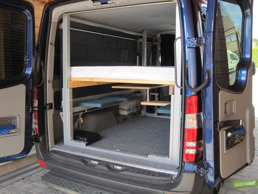 mercedes sprinter quickout wohnmobilausbau. Black Bedroom Furniture Sets. Home Design Ideas
