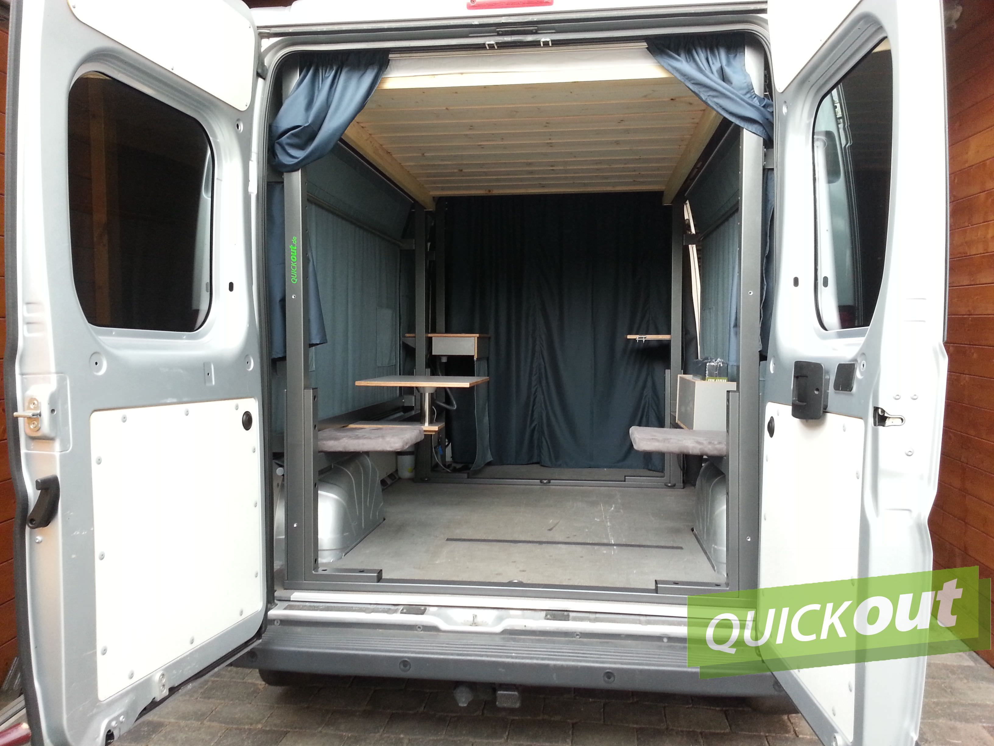 fiat ducato quickout wohnmobilausbau. Black Bedroom Furniture Sets. Home Design Ideas